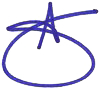 Amy's signature image